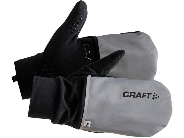 Craft Hybrid Weather Handschoenen, silver/black